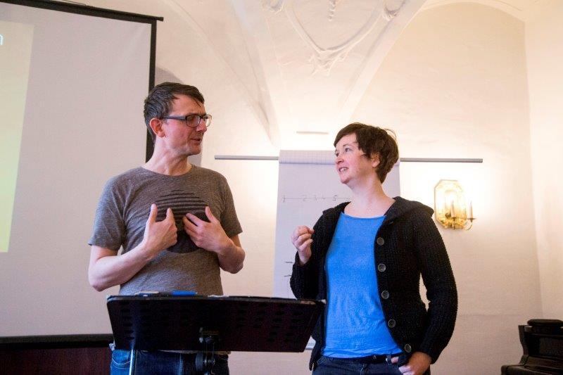 Kimberley und Kristian Reschke