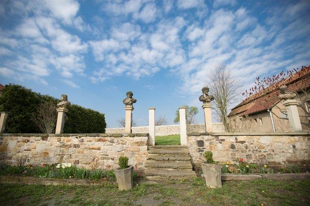 Eindrucksvollder Schlossgarten