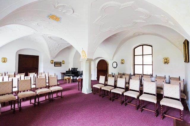 Dreigeteilter Saal 1